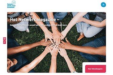 E-magazine versterken van netwerken gehandicaptenzorg